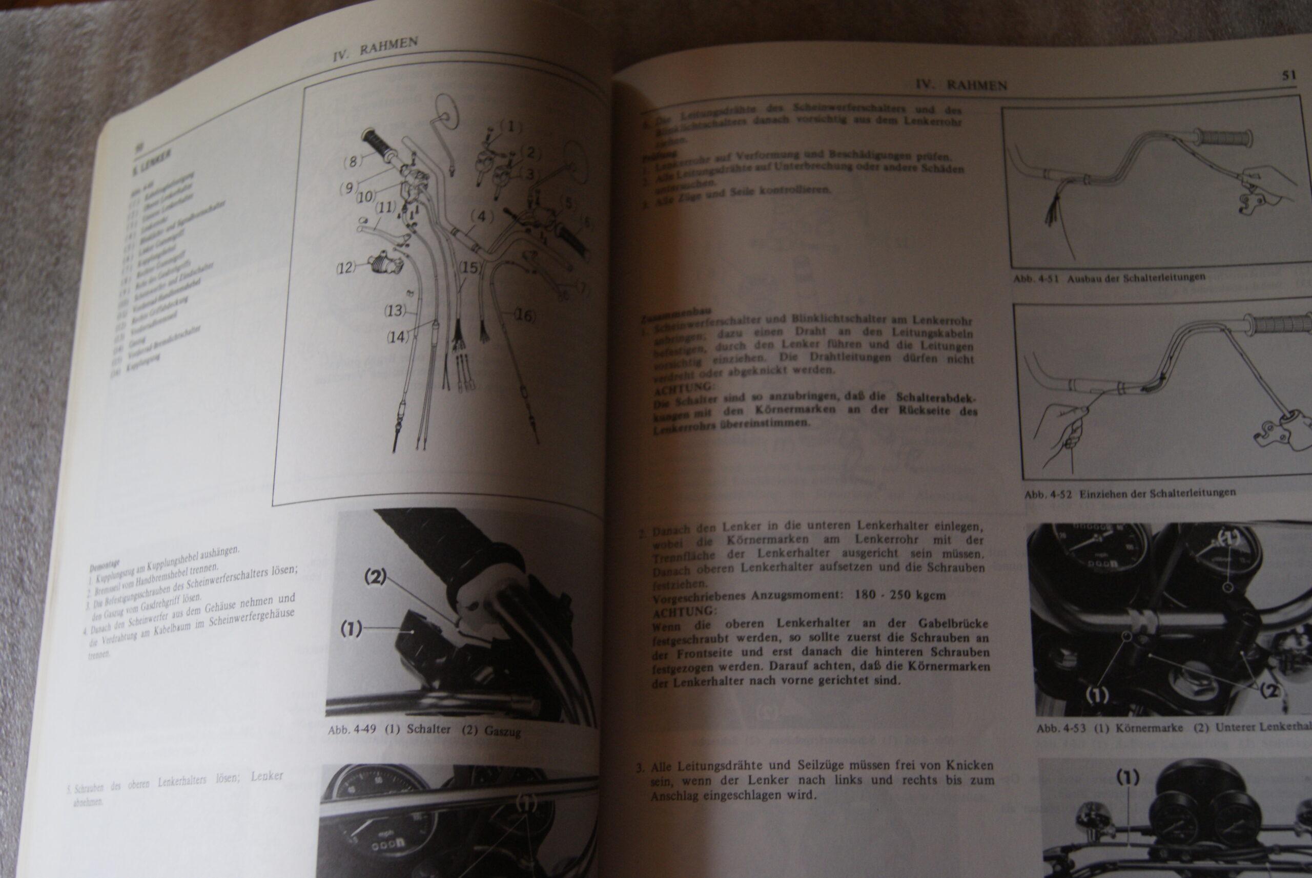 Honda Cb200    Cl200 Werkstatt Handbuch